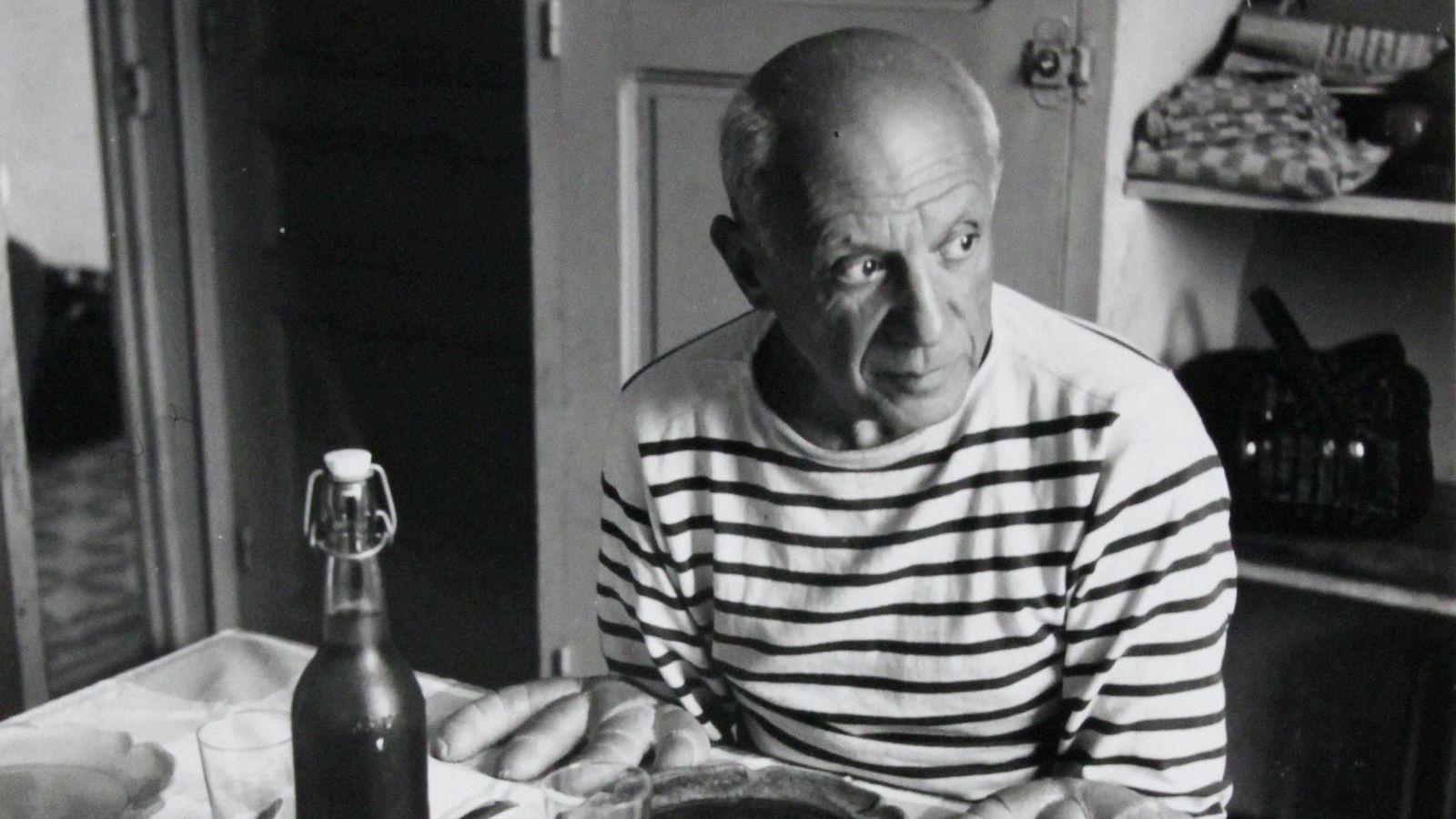 Les pains de Picasso, Vallauris 1952, ® Atelier Robert Doisneau