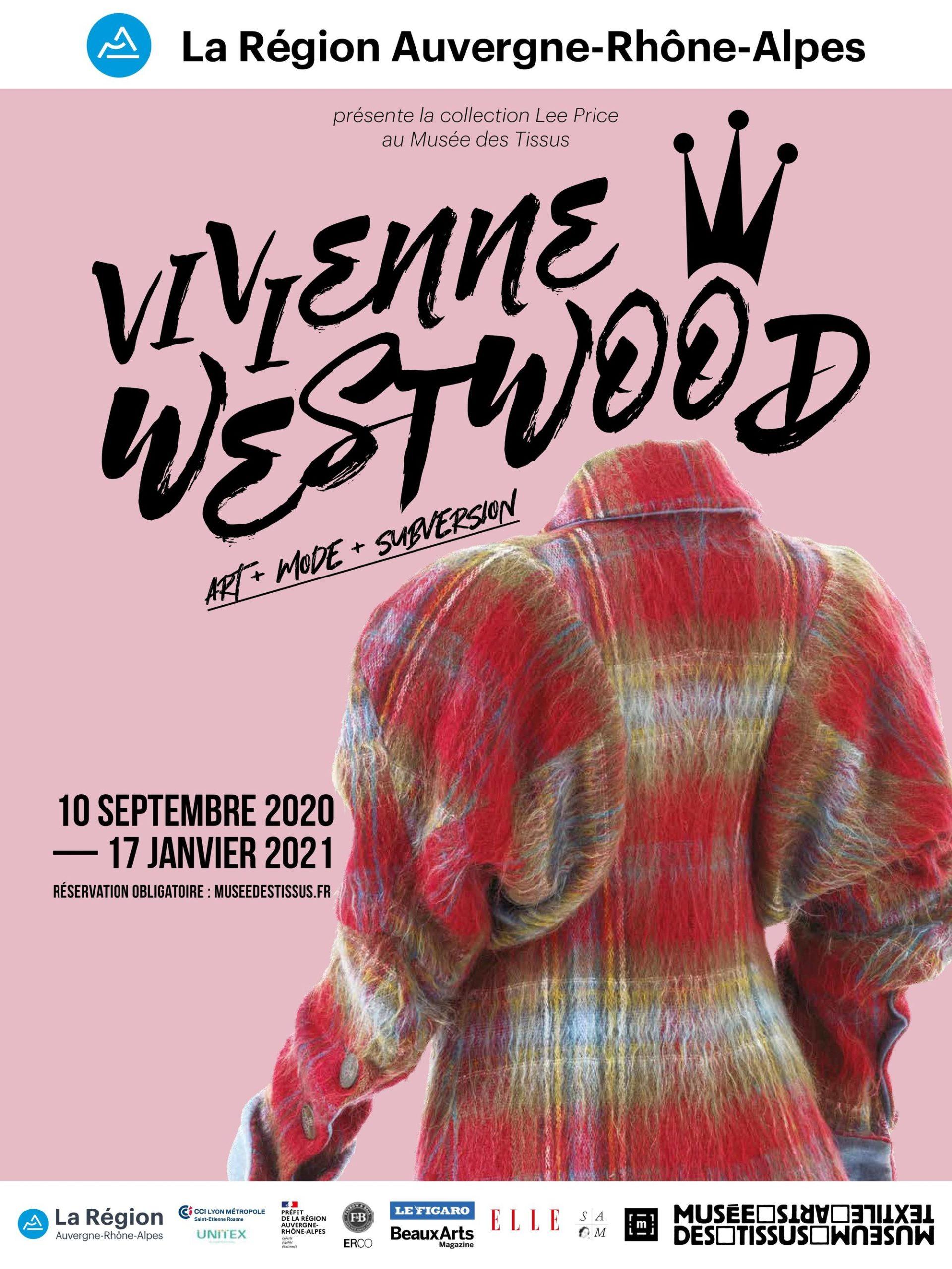 Exposition Vivienne Westwood. Art, Mode et Subversion au musée des Tissus à Lyon