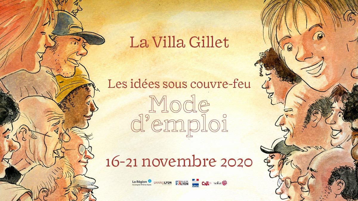 Mode d'emploi 2020 - Villa Gillet : les idées sous couvre-feu