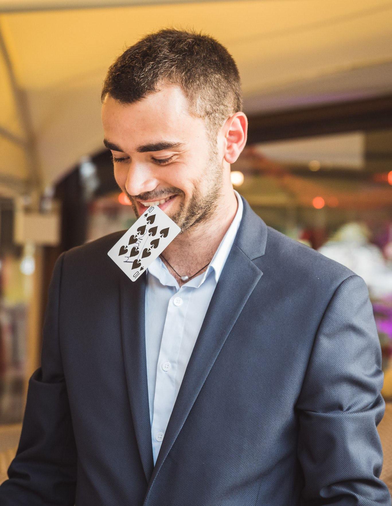 Magicien à Lyon : Maxime Llepez