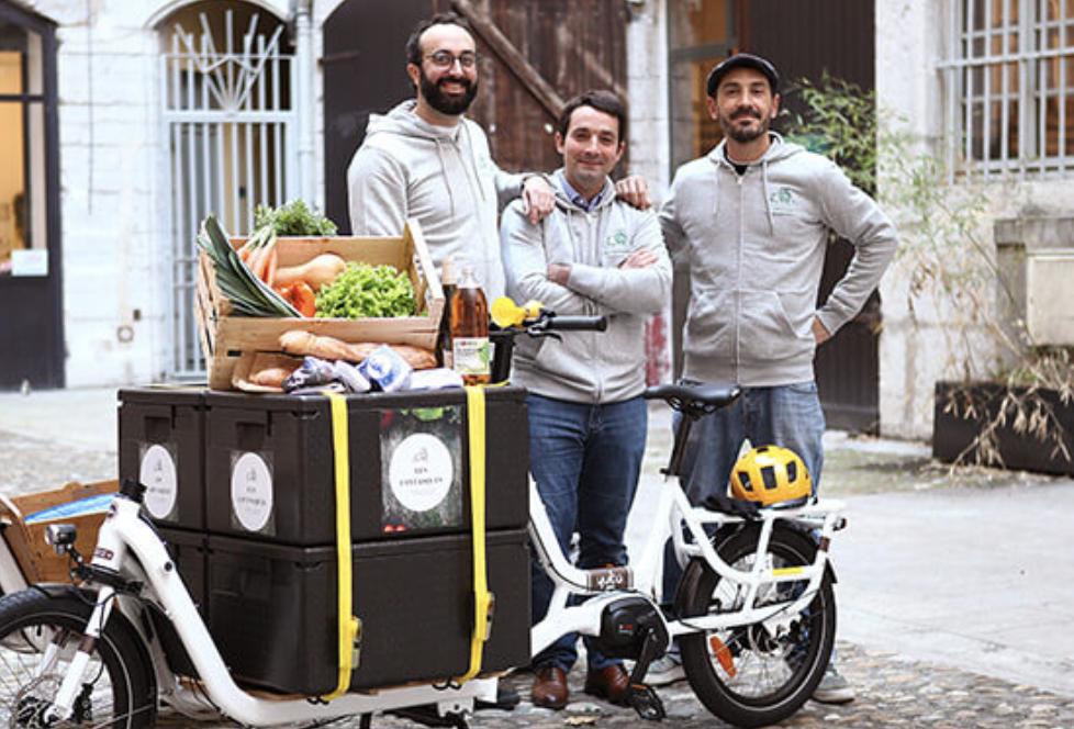 Les Fantasques : vos petits commerces, livrés chez vous à vélo