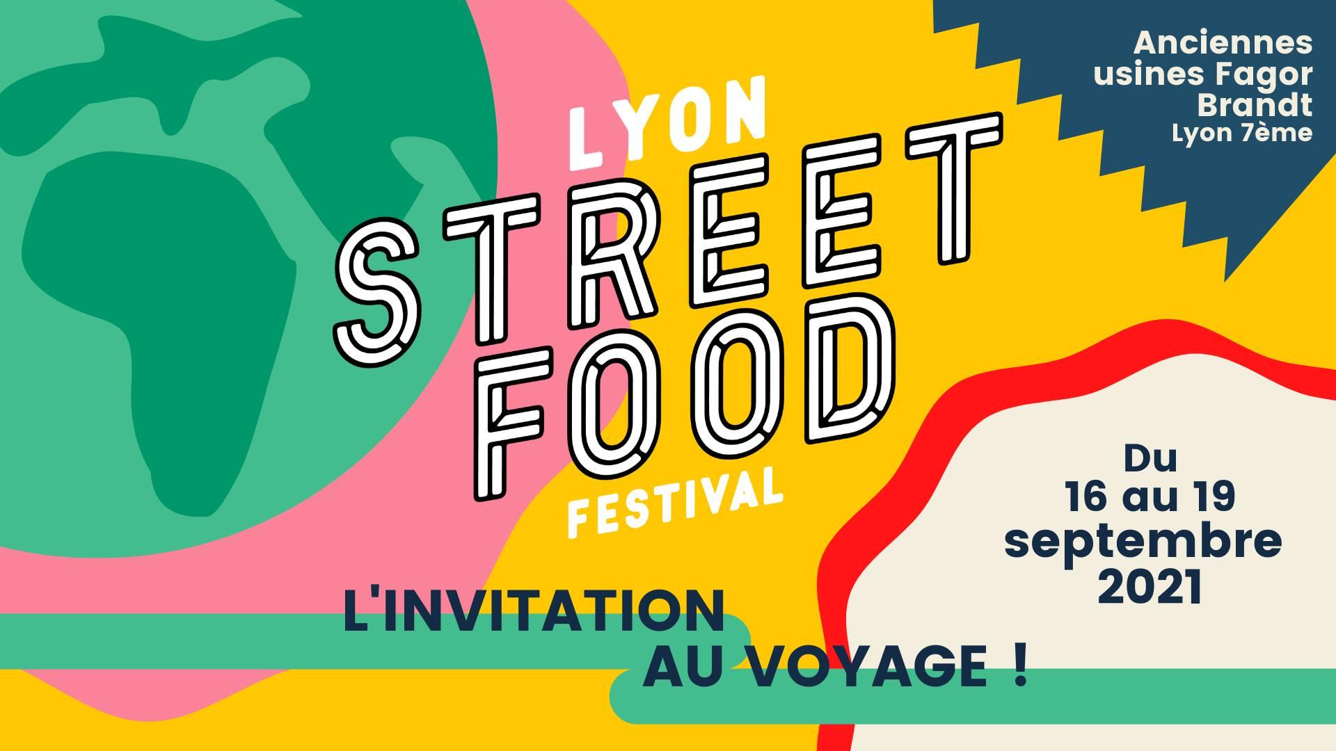 Lyon Street Food Festival 2021 - 5ième édition - du 16 au 19 septembre 2021