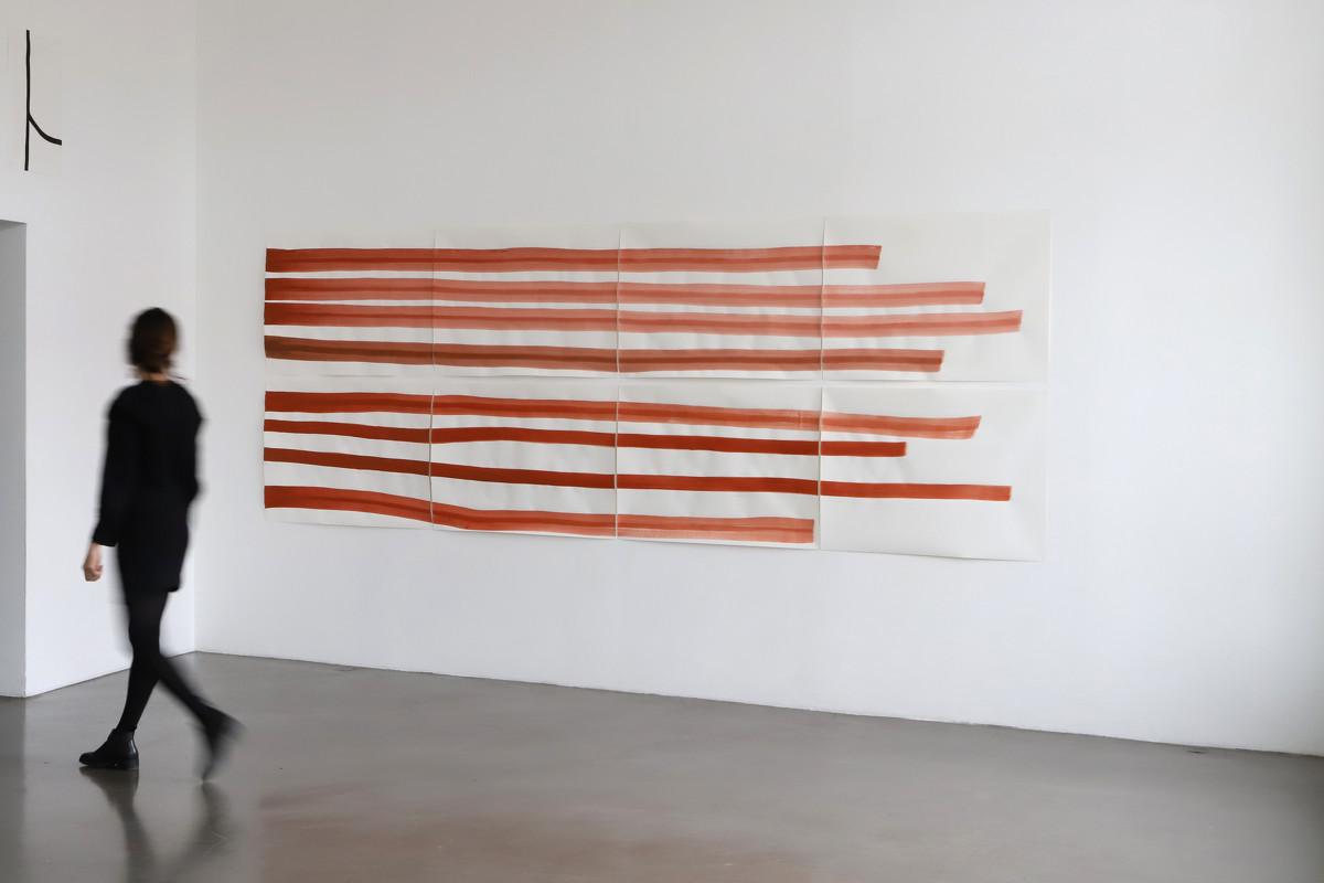 Silvia Bächli, exposition Interstices jusqu'au samedi 27 mars à la BF15