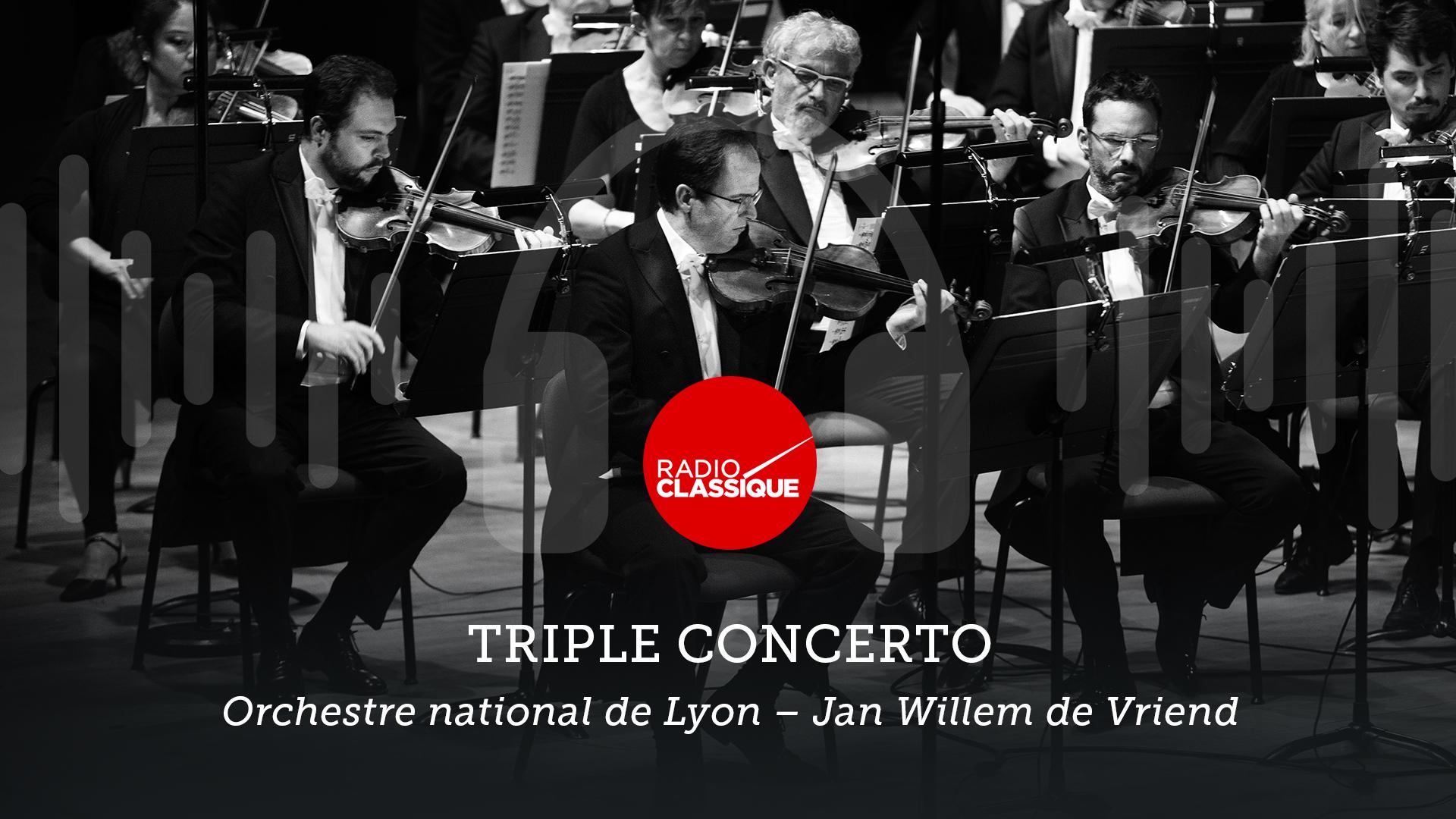 Triple Concerto de Beethoven, sur Radio Classique