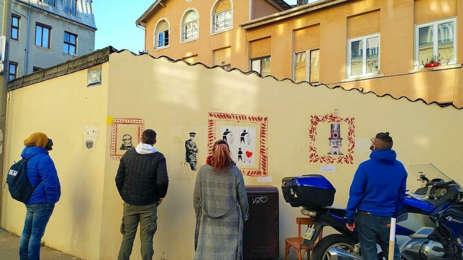 Murséum, un musée éphémère à ciel ouvert à Lyon Croix-Rousse