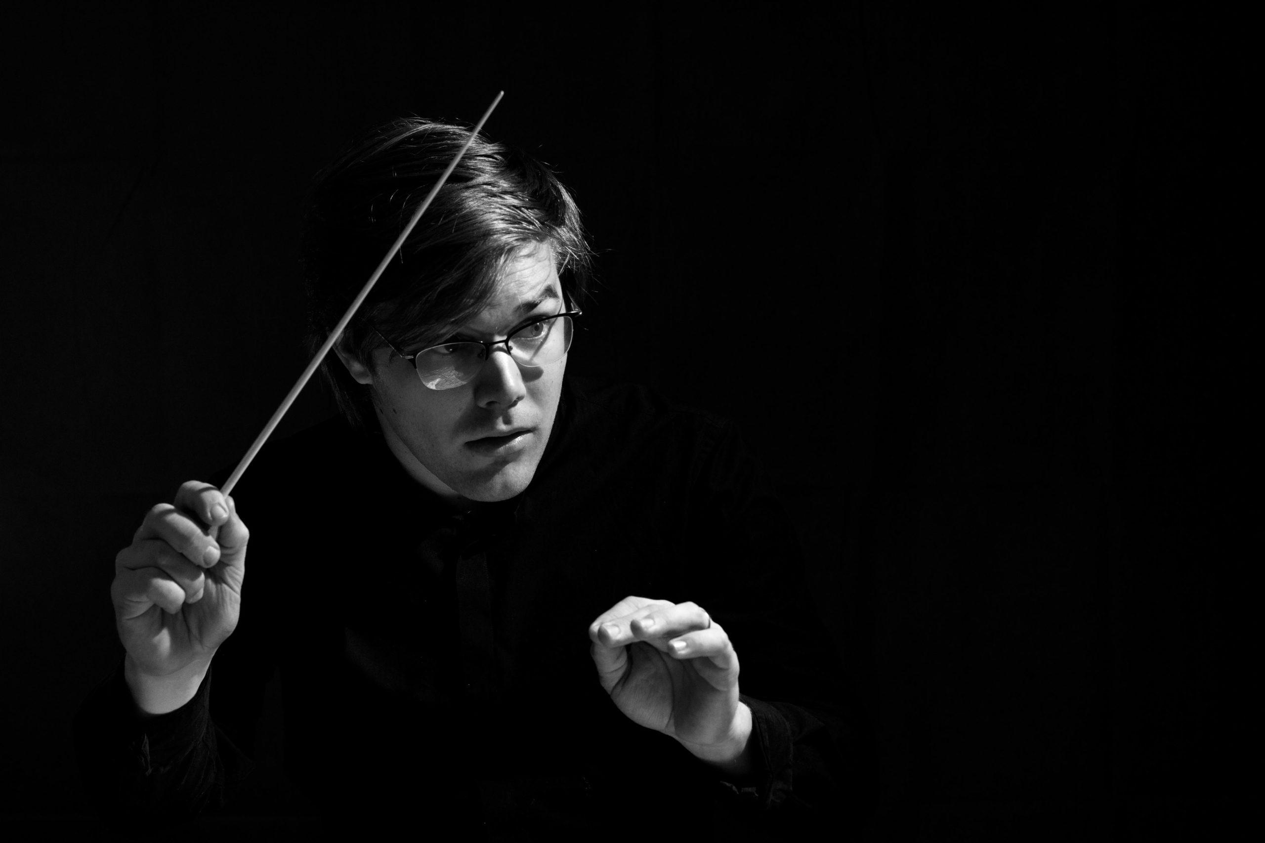 Anton Holmer, nouveau chef assistant de l'Orchestre national de Lyon.