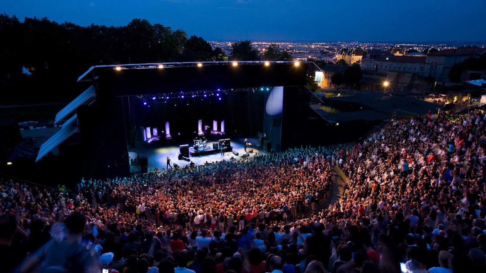 Nuits de Fourvière 2021, du 27 mai au 31 juillet 2021