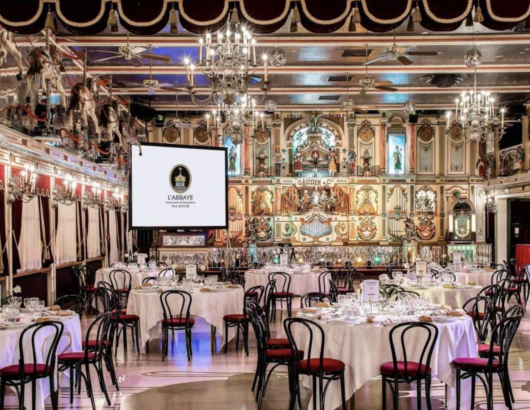 Les Authentiques, diner de gala à l'Abbaye de Collonges le 18 octobre 2021