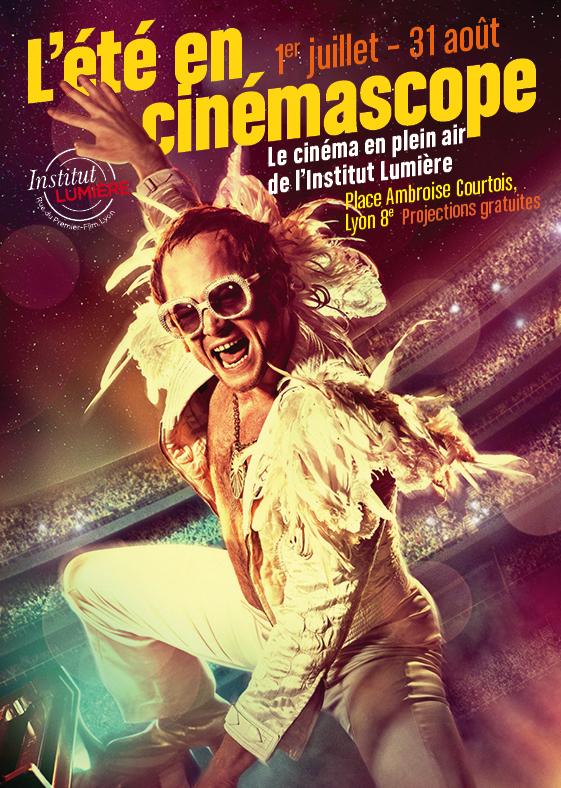 L'été en Cinémascope 2021, séances de cinéma en plein air