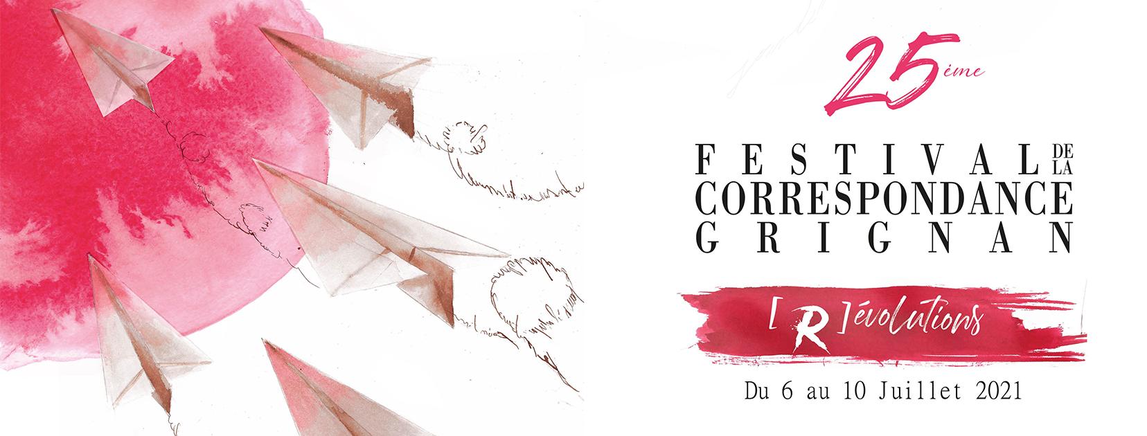 Festival de la correspondance de Grignan 2021