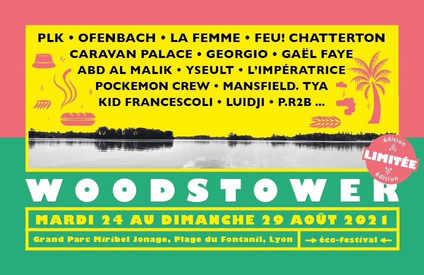 Festival Woodstower 2021 - mardi 24 au dimanche 29 août