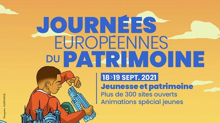 Journées Européennes du Patrimoine 2021 à Lyon : le programme