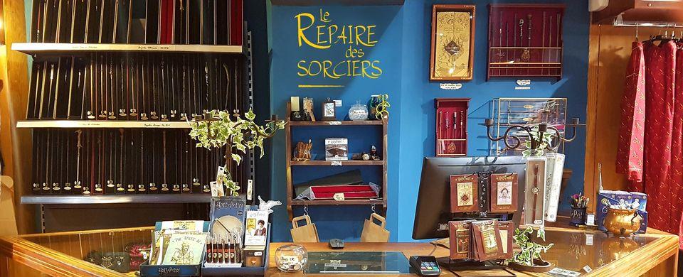 Le Repaire des Sorciers, boutique dédiée à Harry Potter à La Part-Dieu