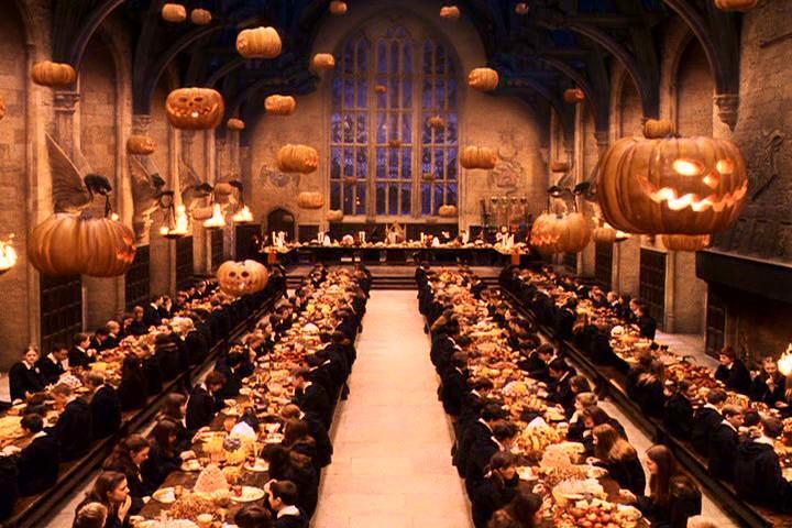 Le banquier des sorciers : Le Grand Réfectoire